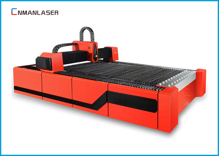1500w Red  Digital Small Cnc Fiber Laser Cutting Machine For Steel Metal