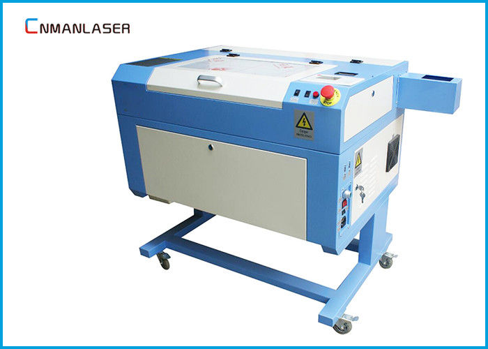 CO2 Mini Laser Cutting Machine For Mdf Wood , High Cutting Speed 0 ~ 35mm/s