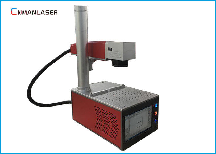 Glasses Frame Metal Fiber Laser Marking Machine 20w Alloy Working Table Easy Focus